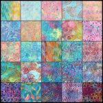 Artisan Batiks listed by color